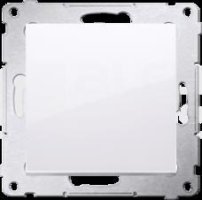 SIMON54 10AX biały Łącznik jednobiegunowy