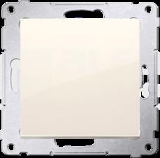 SIMON54 10AX kremowy Łącznik jednobiegunowy