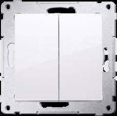 SIMON54 10AX biały Łącznik świecznikowy