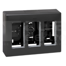 SIMON 500 3-mod szary grafit Obudowa natynkowa
