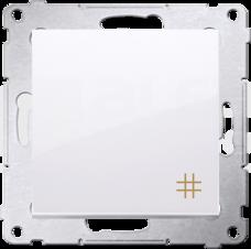 SIMON54 10AX biały Łącznik krzyżowy szybkozłącze