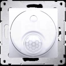 SIMON54 8(2)A biały Łącznik z czujnikiem ruchu z przekaźnikiem