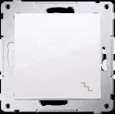 SIMON54 10AX biały Łącznik schodowy pojedynczy