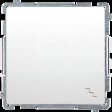 BASIC/M biały Łącznik schodowy pojedynczy