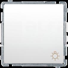 BASIC/M biały Przycisk światło