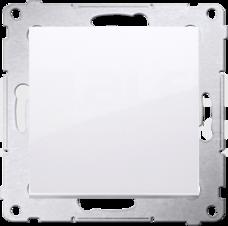 SIMON54 10AX biały Przycisk zwierny pojedynczy