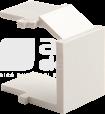 CLASSIC kremowy Zaślepka do gniazda komputerowego