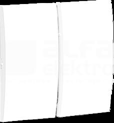 CLASSIC biały Klawisz podwójny