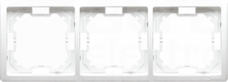 BASIC/M biały Ramka potrójna