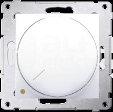 SIMON54 5-215W biały Ściemniacz obrotowy dwubiegunowy