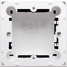 CLASSIC biały Puszka natynkowa pojedyncza