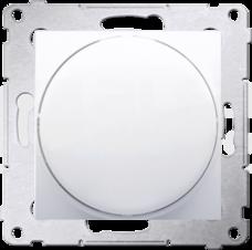 SIMON54 biały Sygnalizator LED światło czerwone