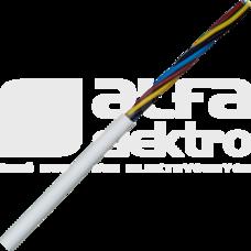 H05VV-F 4G0,75 biały Przewód warsztatowy (OWY)