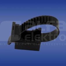UP-22 czarny UV (100szt) Uchwyt paskowy przewodu