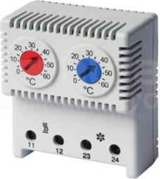 THRV22 0-60st Termostat ogrzew/chłodz