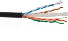 UTPw kat.6 CU zew.żelowany (500)Przewód teleinformatyczny