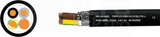 TOPFLEX-EMV-UV...4G4 Przewód do falownika 2xekran
