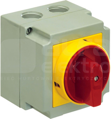 4G25-10-PK-S6 0-1 3P Łącznik krzywkowy w obudowie