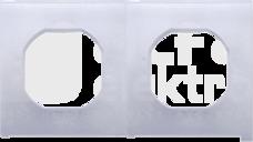SIMON54 IP44 Uszczelki ramki podwójnej