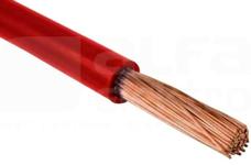 H05V-K 1,0 czerwony Przewód jednożyłowy (LgY)