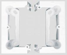 SIMON54 biały Puszka natynkowa składana
