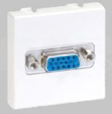 CONNECT czysty biały Płytka VGA