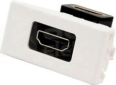CONNECT czysty biały Adapter HDMI+wkład
