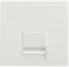 CONNECT czysty biały Płytka teleinformatyczna K45