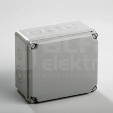 LIGHT 179x155x99 IP65/67 Puszka natynkowa z osłabieniami pokrywa pełna