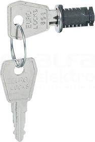 Nr.850 Zamek z kluczem