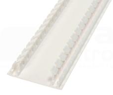 DLP-N 65mm biały Pokrywa kanału kablowego elastyczna
