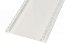 DLP-N 85mm biały Pokrywa kanału kablowego elastyczna