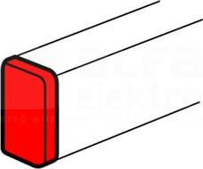 DLP-N 50x105 biały Zaślepka