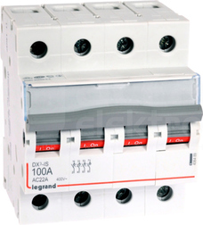 FR 304 100A 4P Rozłącznik