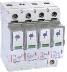 T1+T2 12,5/60kA 4P Ogranicznik przepięć B+C