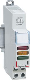 230V czerwony/żółty/zielony Lampka potrójna LED