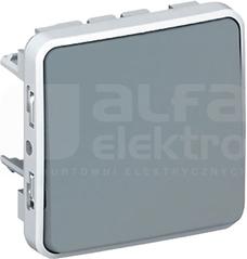 PLEXO55 IP55 szary Mechanizm przycisku przełącznego