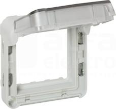 PLEXO55 IP55 szary Adapter z klapką