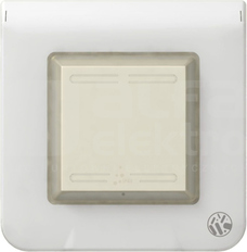 M45 IP44 biały Ramka antybakteryjna