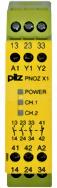 PNOZ X1 24VAC/DC 3n/o 1n/c Przekaźnik bezp.wył.aw.drz.och.kurt.świ.