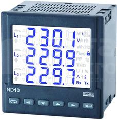 ND10 5A(X/5) 3x230/400 RS485 Miernik parametrów sieci