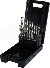 HSS 1-10mm Zestaw wierteł szlifowanych w kasecie