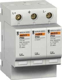 PRD40R 600VDC 2P Ogranicznik przepięć M9