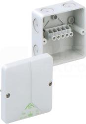 ABOX 040-4,0mm2 93x93x55 IP65 szary Puszka łączeniowa