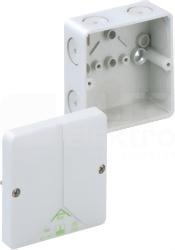 ABOX 040-L 93x93x55 IP65 szary Puszka łączeniowa