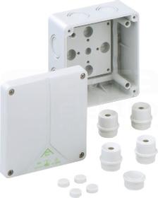 ABOX 060-L 110x110x67 IP65 szary Puszka łączeniowa