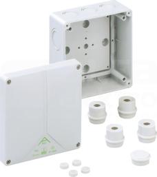 ABOX 100-L 140x140x79 IP65 szary Puszka łączeniowa