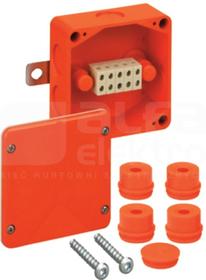 WKE 2-5 100x100x50 5x6mm2 IP54 Puszka przeciwogniowa