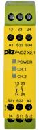 PNOZ X2.1 24VAC/DC 2n/o Przekaźnik bezp.wył.aw.drz.och.kurt.świ.
