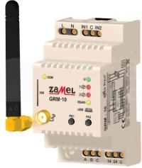 GRM-10 Zdalny sterownik GSM modułowy 2-kan.
